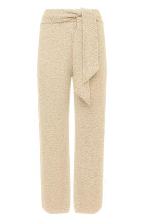 Женские брюки NANUSHKA бежевого цвета, арт. NEA_CREME_FLUFFY KNIT | Фото 1
