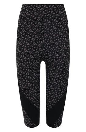 Женские шорты BURBERRY черного цвета, арт. 8036686 | Фото 1