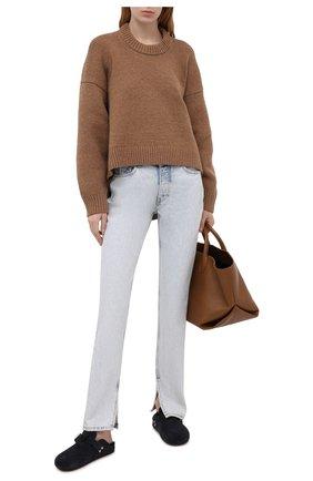 Женские джинсы GANNI голубого цвета, арт. F5474 | Фото 2