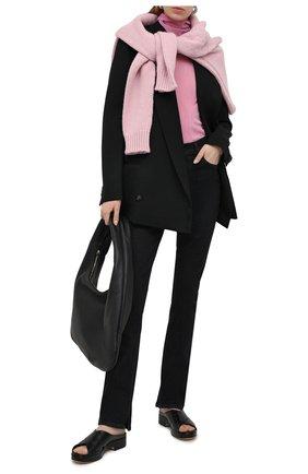 Женские джинсы HELMUT LANG черного цвета, арт. K10DW201 | Фото 2