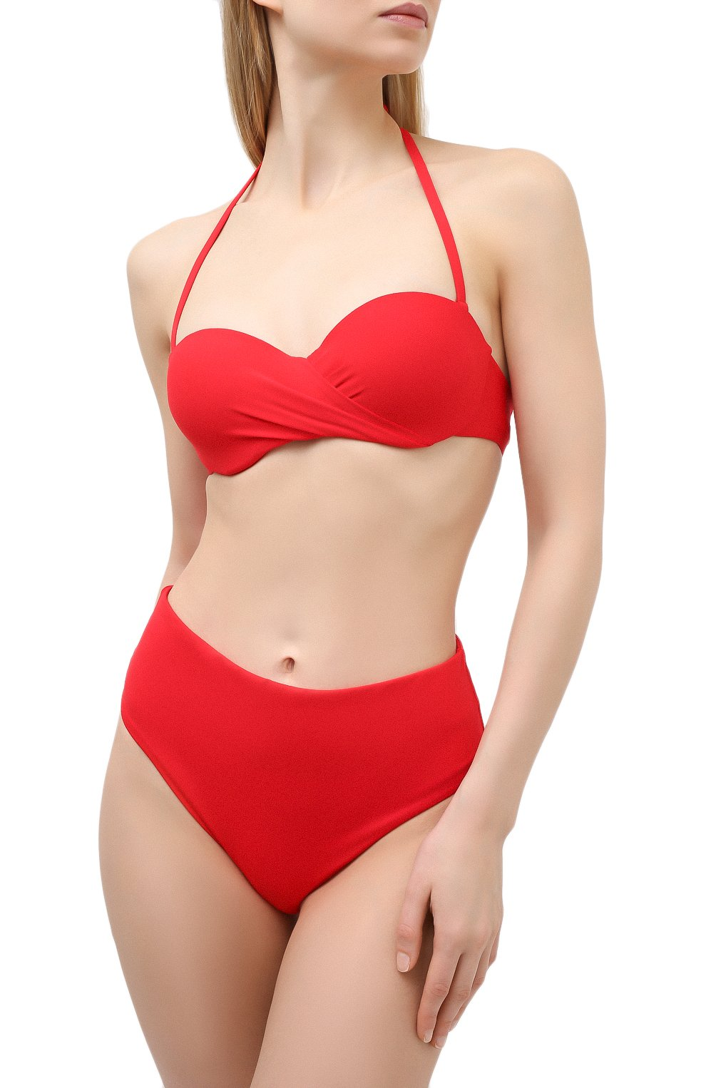 Женский бра-бандо RITRATTI MILANO красного цвета, арт. 71981 | Фото 2