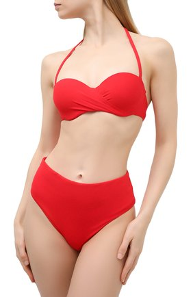Женский плавки-бикини RITRATTI MILANO красного цвета, арт. 71991 | Фото 2