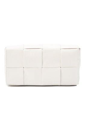 Женская поясная сумка cassette belt bag BOTTEGA VENETA белого цвета, арт. 651053/VCQ72 | Фото 1