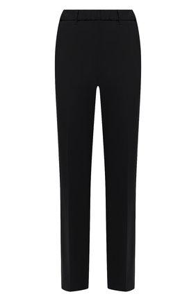 Женские шерстяные брюки LORENA ANTONIAZZI черного цвета, арт. P2108PA009/3180 | Фото 1