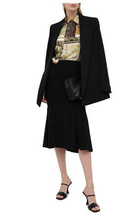 Женская юбка VERSACE черного цвета, арт. A88504/A236477 | Фото 2