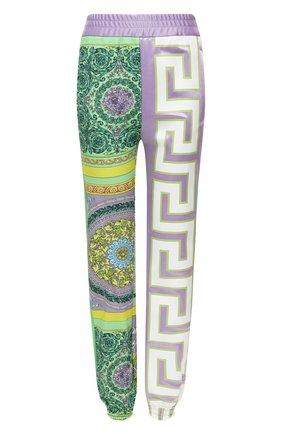 Женские хлопковые джоггеры VERSACE разноцветного цвета, арт. A88512/1F00627 | Фото 1