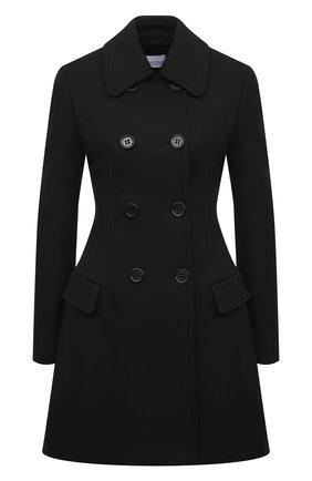 Женское пальто REDVALENTINO черного цвета, арт. VR3CAD20/1Y1 | Фото 1