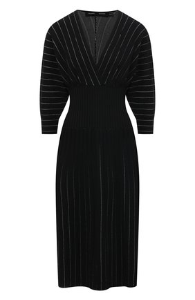 Женское платье из вискозы PROENZA SCHOULER черного цвета, арт. R2117599-KY213 | Фото 1