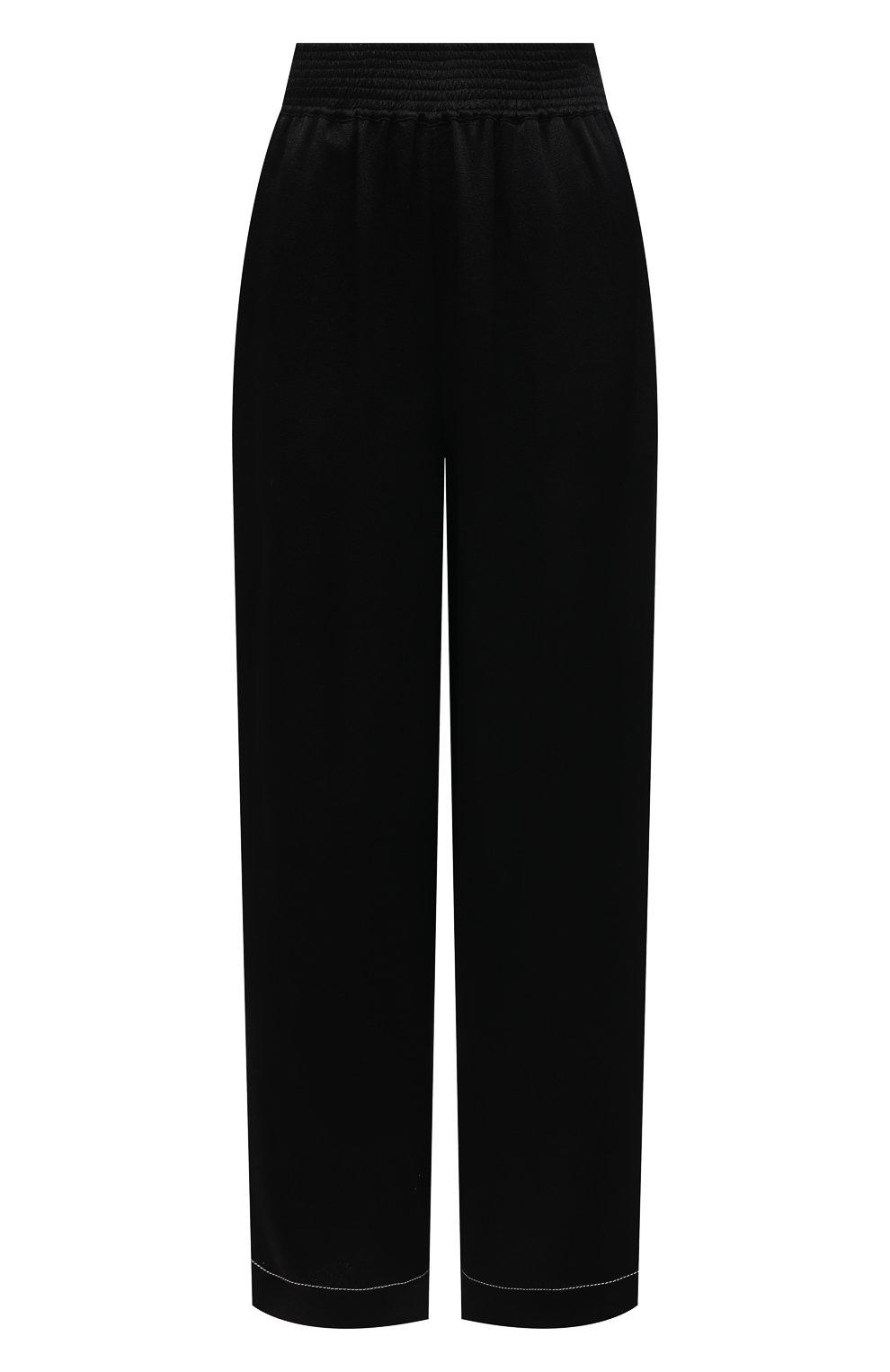 Женские брюки из вискозы PROENZA SCHOULER WHITE LABEL черного цвета, арт. WL2116071-BY194   Фото 1
