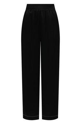 Женские брюки из вискозы PROENZA SCHOULER WHITE LABEL черного цвета, арт. WL2116071-BY194 | Фото 1