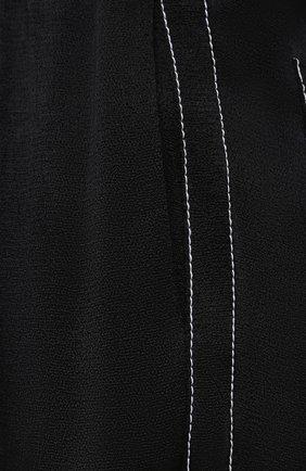 Женские брюки из вискозы PROENZA SCHOULER WHITE LABEL черного цвета, арт. WL2116071-BY194   Фото 5