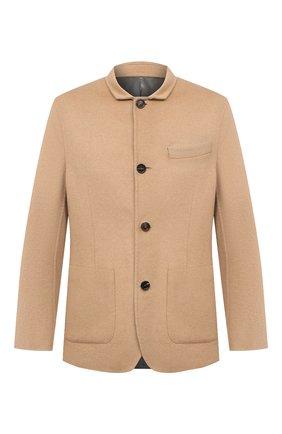 Мужской пальто из шерсти викуньи BRUNELLO CUCINELLI бежевого цвета, арт. MP4659923/VVIC | Фото 1