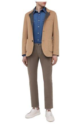 Мужской пальто из шерсти викуньи BRUNELLO CUCINELLI бежевого цвета, арт. MP4659923/VVIC | Фото 2