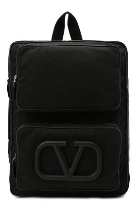 Мужской текстильный рюкзак supervee VALENTINO черного цвета, арт. VY2B0A53/DZK   Фото 1