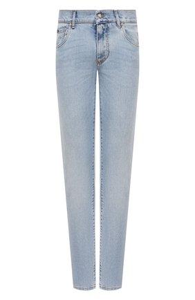Мужские джинсы DOLCE & GABBANA синего цвета, арт. GY07LD/G8D08   Фото 1
