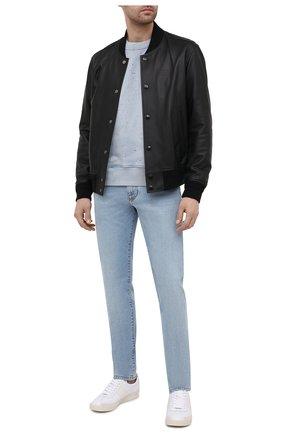 Мужские джинсы DOLCE & GABBANA синего цвета, арт. GY07LD/G8D08   Фото 2
