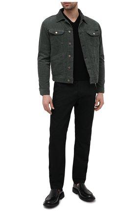 Мужская куртка TOM FORD хаки цвета, арт. BWJ39/TFD116 | Фото 2