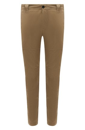 Мужские хлопковые брюки C.P. COMPANY бежевого цвета, арт. 10CMPA153A-005694G | Фото 1