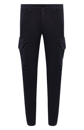 Мужские хлопковые брюки-карго C.P. COMPANY темно-синего цвета, арт. 10CMPA152A-005694G | Фото 1