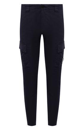 Мужские хлопковые брюки-карго C.P. COMPANY темно-синего цвета, арт. 10CMPA151A-005694G | Фото 1