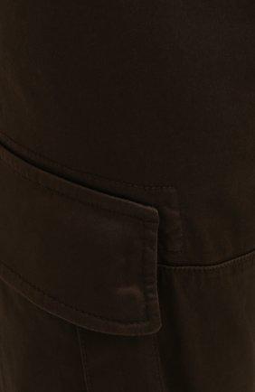 Мужские хлопковые брюки-карго C.P. COMPANY хаки цвета, арт. 10CMPA151A-005694G | Фото 5 (Силуэт М (брюки): Карго; Длина (брюки, джинсы): Стандартные; Случай: Повседневный; Стили: Гранж; Материал внешний: Хлопок)