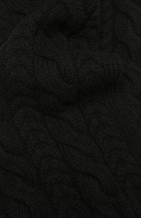 Мужской кашемировый шарф RALPH LAUREN черного цвета, арт. 790782226 | Фото 2