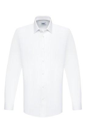 Мужская хлопковая сорочка BURBERRY белого цвета, арт. 8037486 | Фото 1