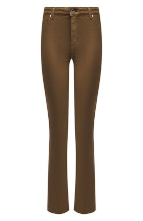 Женские джинсы KITON хаки цвета, арт. DJ51101/X08T51 | Фото 1