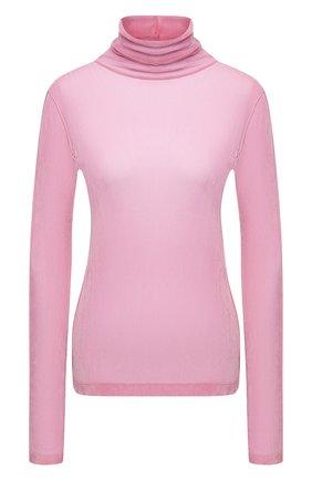 Женская водолазка HELMUT LANG розового цвета, арт. K10HW509 | Фото 1