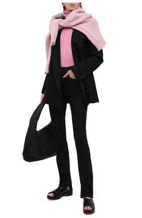 Женская водолазка HELMUT LANG розового цвета, арт. K10HW509 | Фото 2