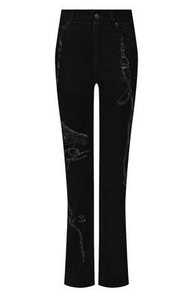 Женские джинсы RALPH LAUREN черного цвета, арт. 290822638   Фото 1