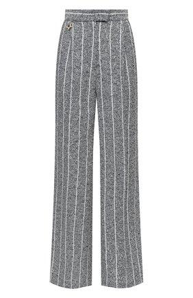 Женские льняные брюки LORENA ANTONIAZZI синего цвета, арт. P2113PA016/3423 | Фото 1