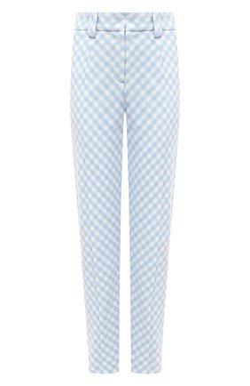 Женские брюки BALMAIN голубого цвета, арт. VF15172/X447 | Фото 1