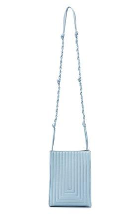 Женская сумка tangle mini JIL SANDER голубого цвета, арт. JSPS853495-WSB01050N | Фото 1