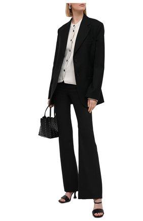 Женский кардиган из хлопка и шелка PROENZA SCHOULER WHITE LABEL белого цвета, арт. WL2117559-KS054 | Фото 2