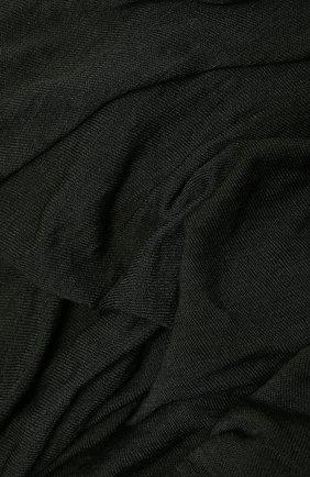 Мужской шарф из вискозы TRANSIT хаки цвета, арт. SCAUTRN5001 | Фото 2