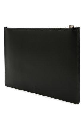 Мужской кожаный футляр для документов valentino garavani VALENTINO черно-белого цвета, арт. VY2P0483/LVN | Фото 2