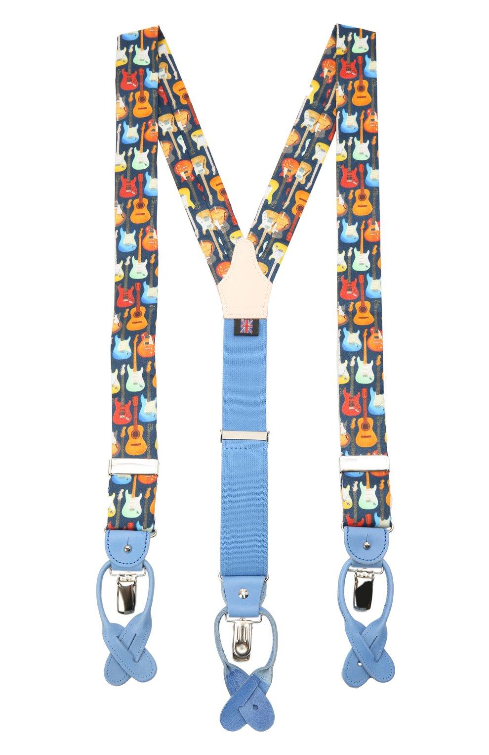Мужские хлопковые подтяжки ALBERT THURSTON разноцветного цвета, арт. 20/SHIRTING   Фото 1 (Материал: Текстиль, Хлопок)