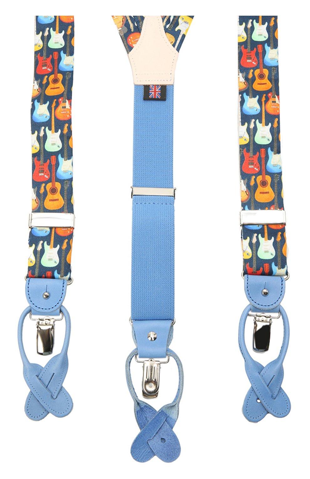 Мужские хлопковые подтяжки ALBERT THURSTON разноцветного цвета, арт. 20/SHIRTING   Фото 2 (Материал: Текстиль, Хлопок)