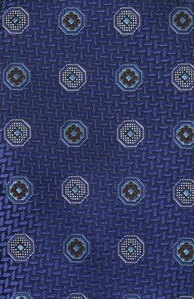 Мужской шелковый галстук CANALI темно-синего цвета, арт. 18/HJ03137   Фото 3
