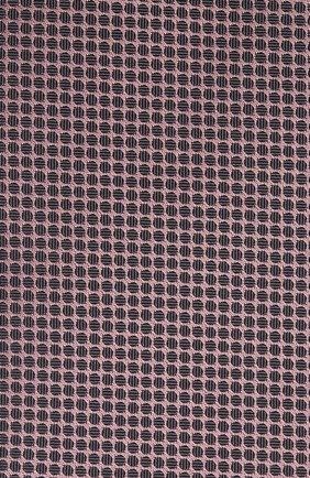 Мужской шелковый галстук BOSS розового цвета, арт. 50446842 | Фото 3