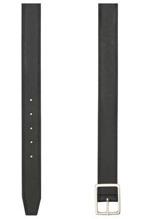 Мужской кожаный ремень BOSS черного цвета, арт. 50447173 | Фото 2