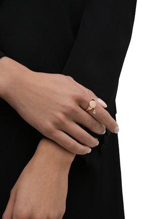 Женское кольцо MOONKA STUDIO золотого цвета, арт. nc-sig-tpz-g | Фото 2