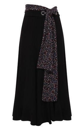 Женская юбка CHLOÉ черного цвета, арт. CHC21SJU29137 | Фото 1
