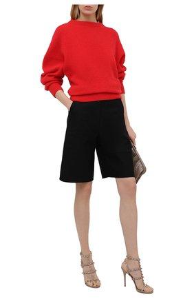 Женские кожаные босоножки valentino garavani rockstud VALENTINO бежевого цвета, арт. VW2S0A27/V0D | Фото 2