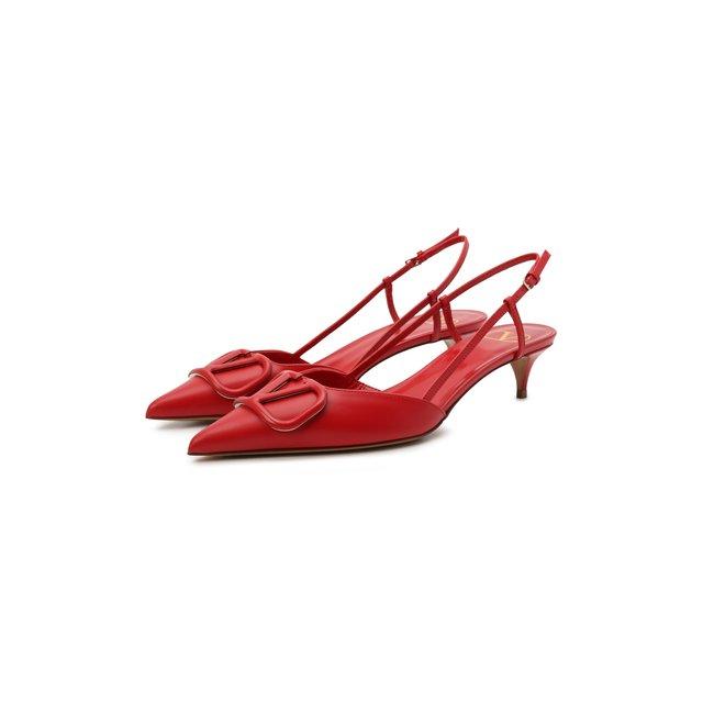 Кожаные туфли VLogo Valentino