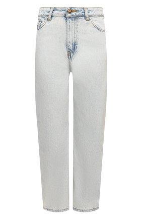Женские джинсы GANNI голубого цвета, арт. F5771 | Фото 1