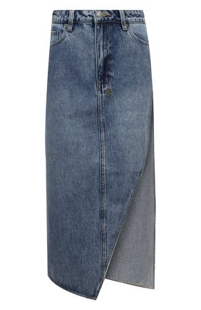 Женская джинсовая юбка KSUBI голубого цвета, арт. 5000005244   Фото 1