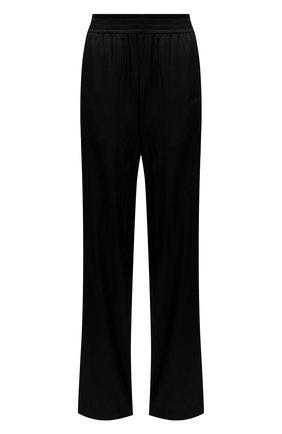 Женские шелковые брюки HELMUT LANG черного цвета, арт. K10DW203   Фото 1