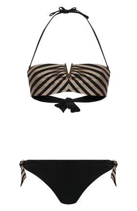 Женский раздельный купальник RITRATTI MILANO черного цвета, арт. 71998 | Фото 1